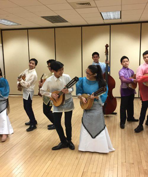 Rondalla practice. Credit: Agnes Quisumbing