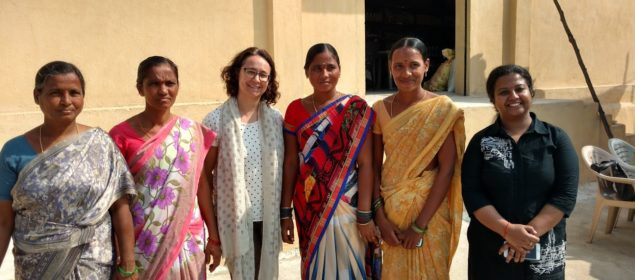Women with a Farmer Producer Organization in India